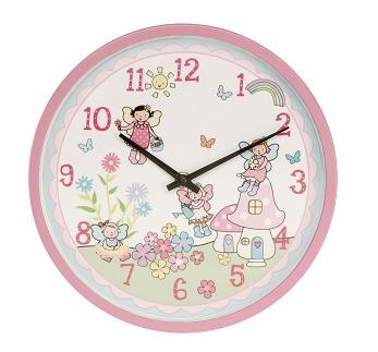 child fairy clock