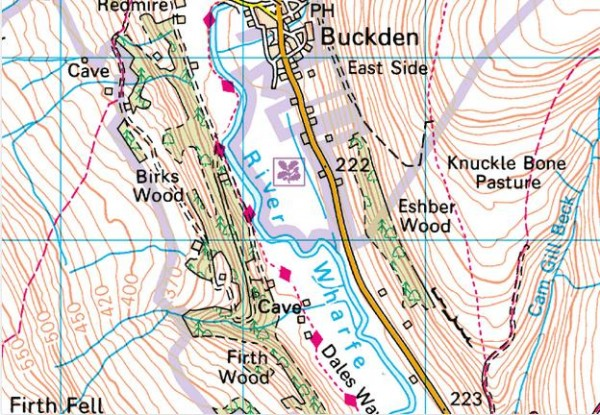 fairy dell buckden map