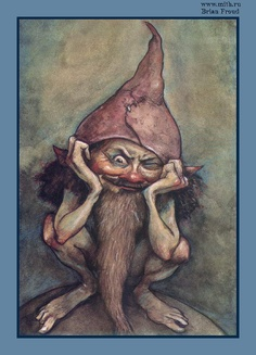 froud red hatted fairy
