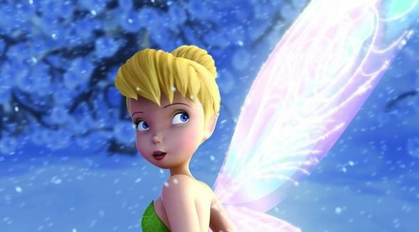 tinkerbell and wings