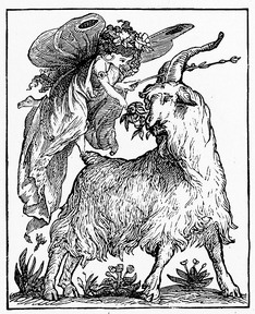 fairy and goat