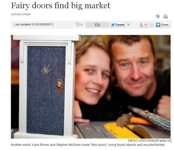 fairy doors find big market