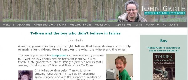 john garth tolkien and the boy who didn't believe in fairies