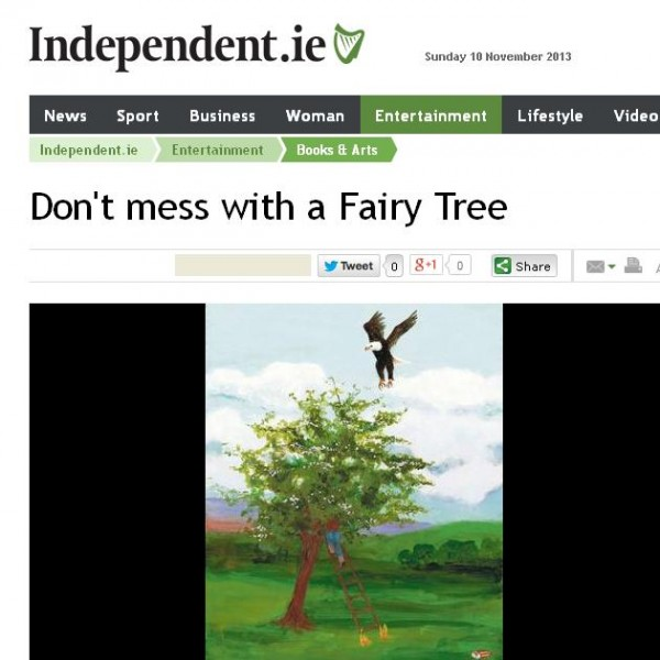 don't mess with a fairy tree