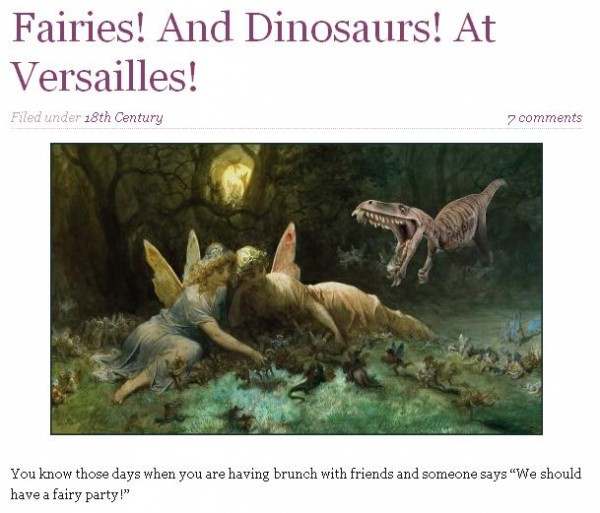 fairies and dinosaurs