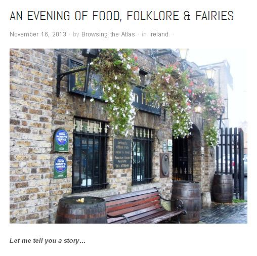 food folklore and fairies