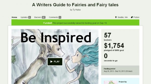 writers guide to fairies