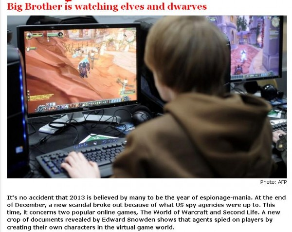 big brother watches elves and dwarves
