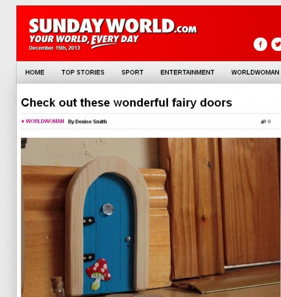 check out these wonderful fairy doors