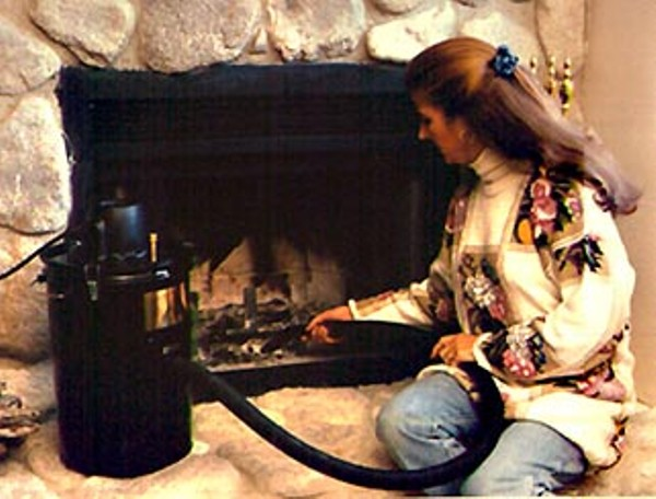 cleaning fireplace fairies