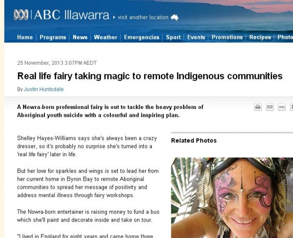 fairy as therapy in australia