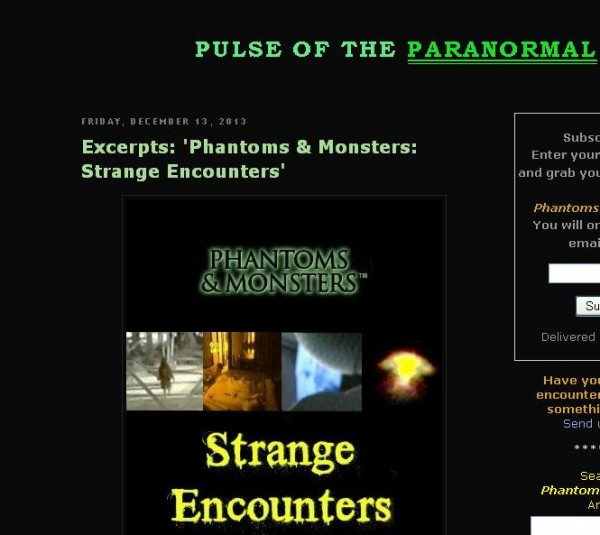 phantoms and monsters