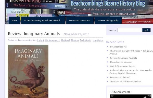 review imaginary animals