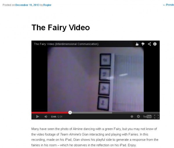 the fairy video
