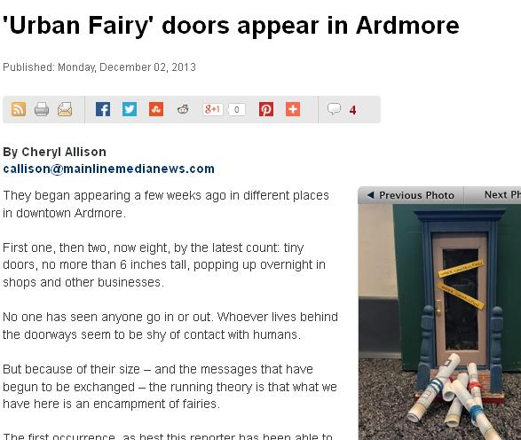 urban fairy doors