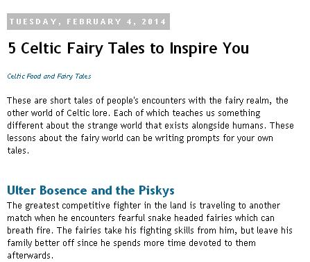 5 celtic fairy tales