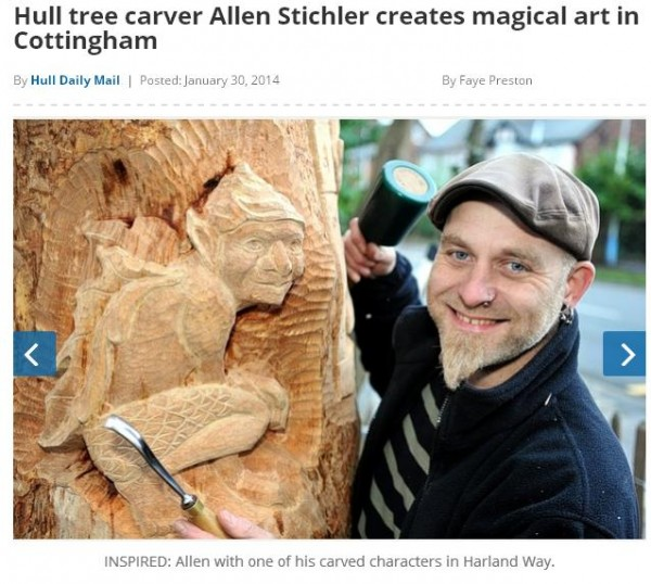 hull tree carvings
