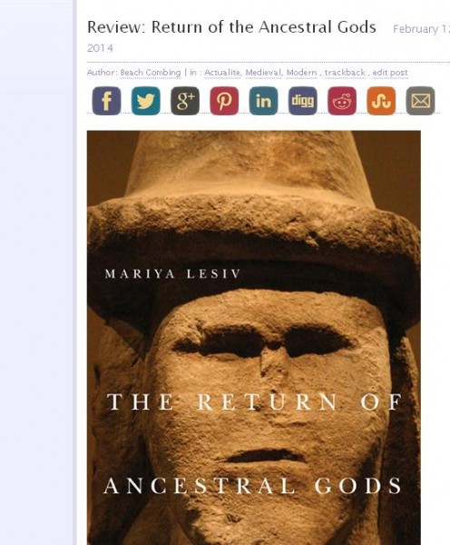 review return of the ancestral gods