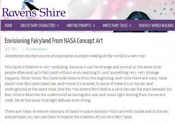 NASA and fairyland