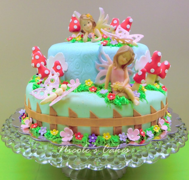 fairies in cake