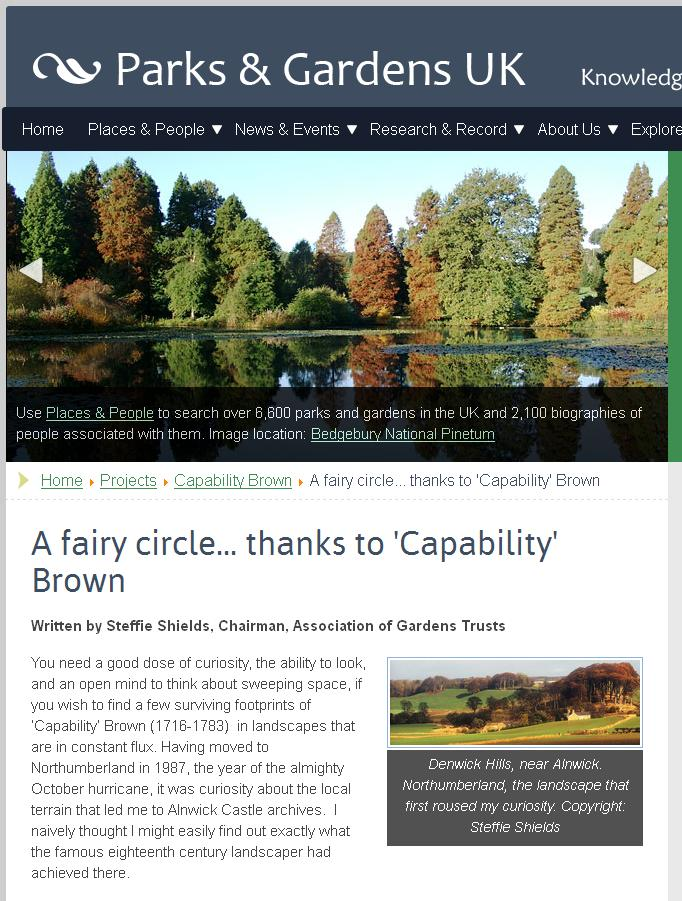 capability brown and the fairy circle