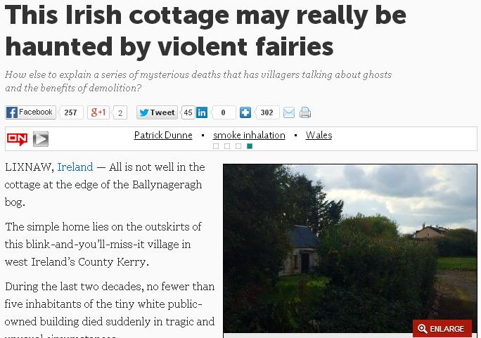 irish cottage hell